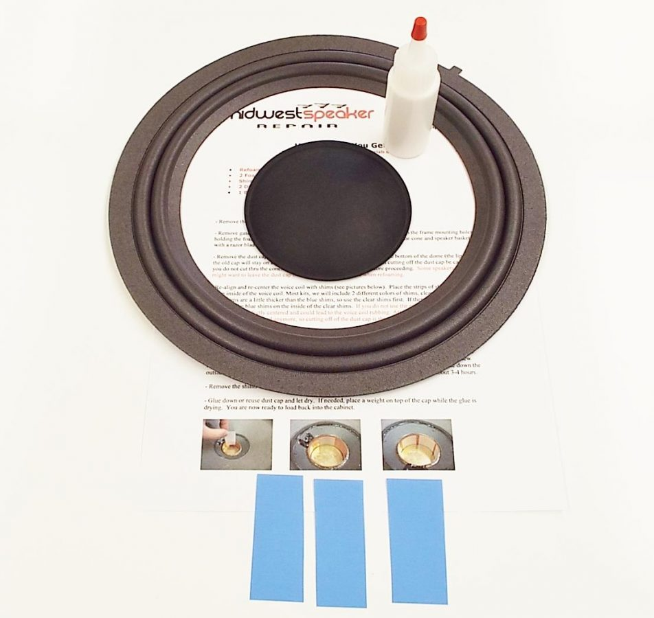 Mark Levinson 86160-0W210: 10 inch M Roll Refoam Kit (F10-9)-601
