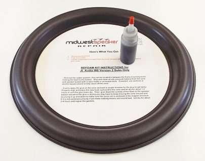 JL Audio 13W6v2 13 inch Refoam Kit (F13-2)-617