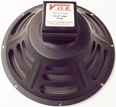 VOR V12A-25: 12 inch Alnico Guitar Speaker-0