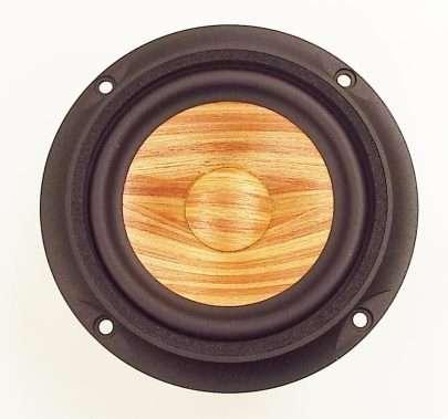 MW Audio MW-7050-8: 5 inch Wood Cone Shielded Woofer-978