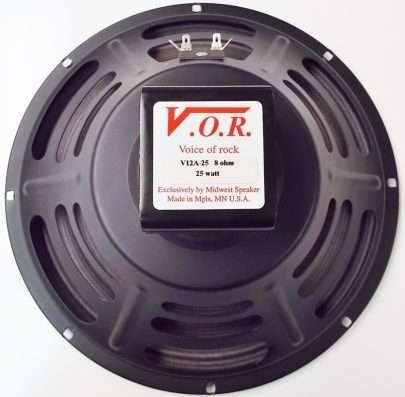 VOR V12A-25: 12 inch Alnico Guitar Speaker-952