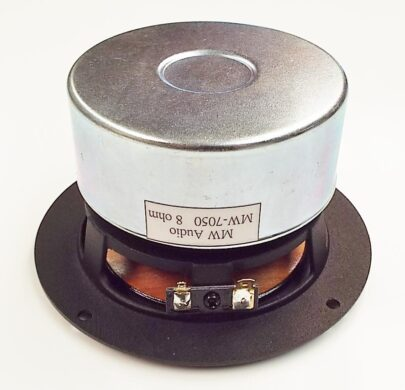 MW Audio MW-7050-8: 5 inch Wood Cone Shielded Woofer-977