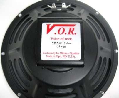VOR V10A-25: 10 inch Alnico Guitar Speaker-946