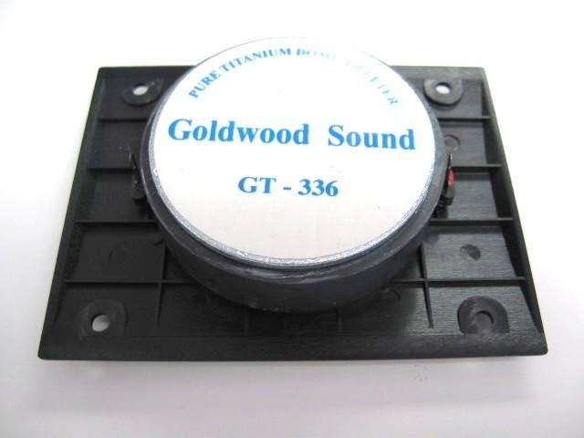 Goldwood GT-336: 1 inch Titanium Dome Tweeter-995