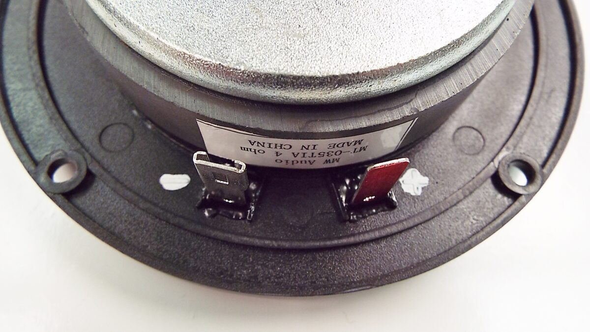 MW Audio MT-035TIA: 1 inch Titanium Dome Tweeter-1194