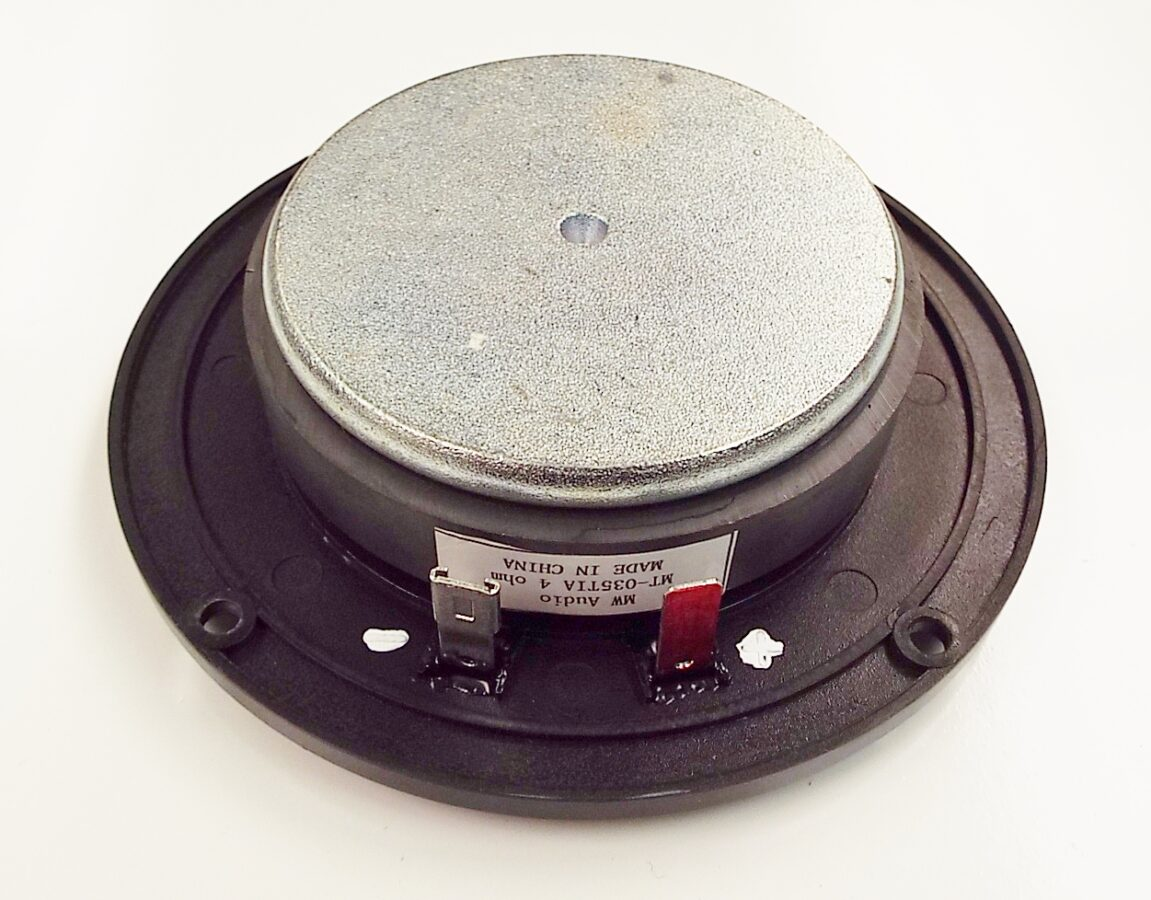 MW Audio MT-035TIA: 1 inch Titanium Dome Tweeter-1191