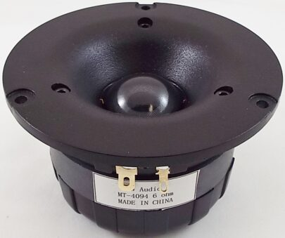 MW Audio MT-4094: 1.125 inch Dome Tweeter-0
