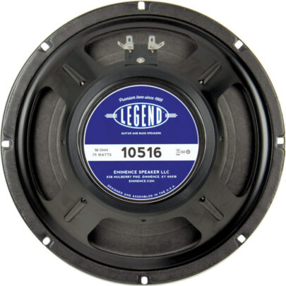 Eminence LEGEND 1058 / 10516: 10 inch Guitar Speaker-1730