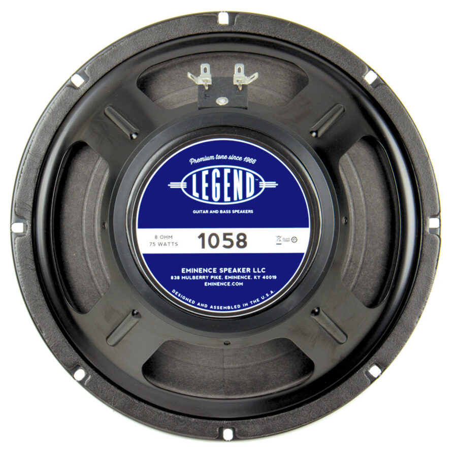 Eminence LEGEND 1058 / 10516: 10 inch Guitar Speaker-0