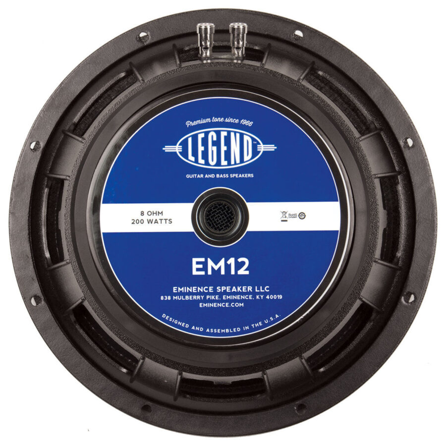 Eminence Legend EM12: 12 inch Guitar Speaker-0
