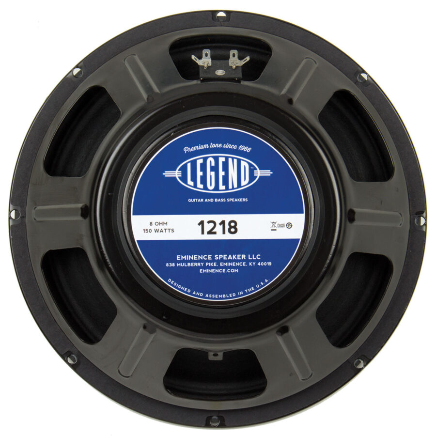 Eminence LEGEND 1218: 12 inch Guitar Speaker-0