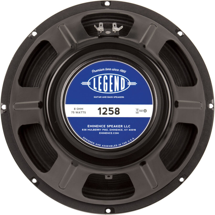 Eminence LEGEND 1258: 12 inch Guitar Speaker-0