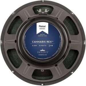 "Eminence CANNABIS REX : 12"" inch Hemp Cone Guitar Speaker-0"