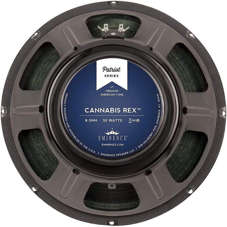"Eminence CANNABIS REX : 12"" inch Hemp Cone Guitar Speaker-0"