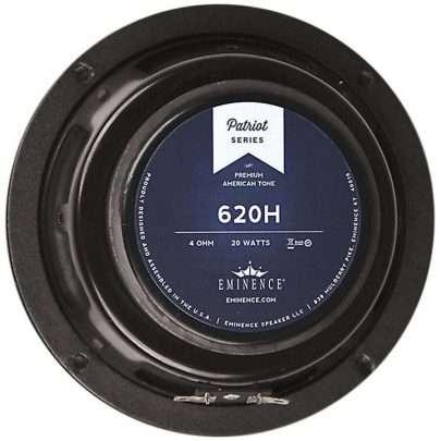 Eminence 620H: 6.5 inch Hemp Cone Guitar Speaker-0