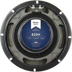 Eminence 820H: 8 inch Hemp Cone 4 ohm Guitar Speaker-0