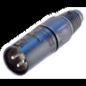 NC3MX-B Neutrik Male XLR Cable Plug-0