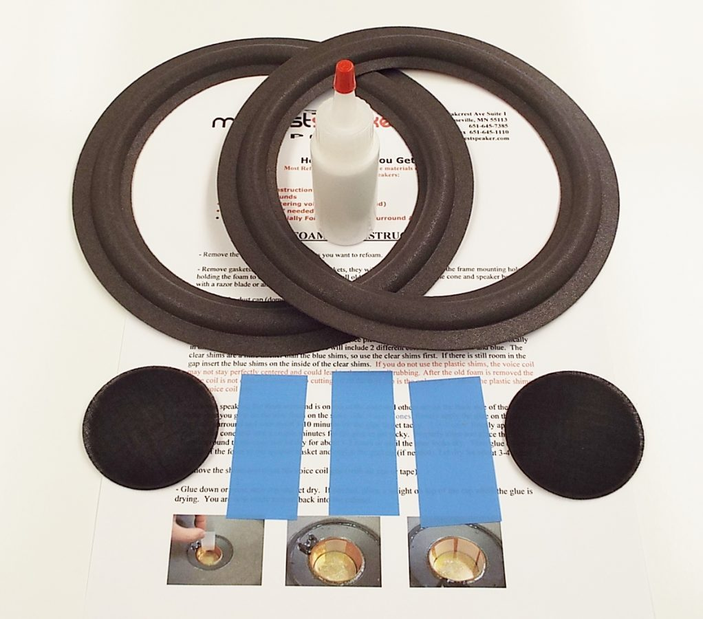Advent 6.5 inch Refoam Kit (F6-3)-2621