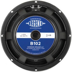 Eminence Legend B102: 10 inch Bass Guitar Speaker-0