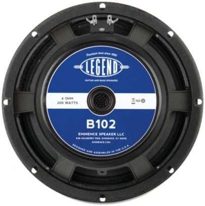 Eminence Legend B102: 10 inch Bass Guitar Speaker-0