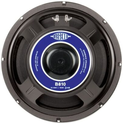 "Eminence Legend B810: 10"" 32 ohm Bass Guitar Speaker-0"