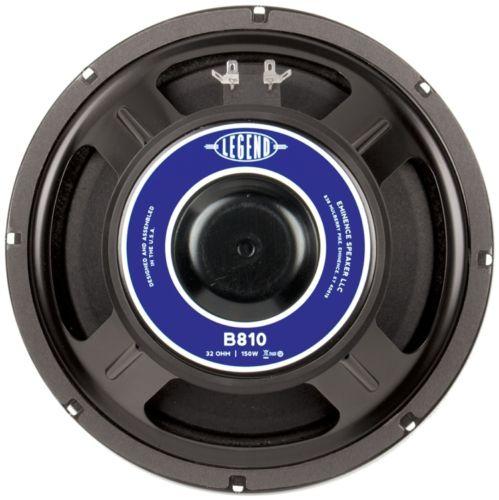 "Eminence Legend B810: 10"" 32 ohm Bass Guitar Speaker-0"