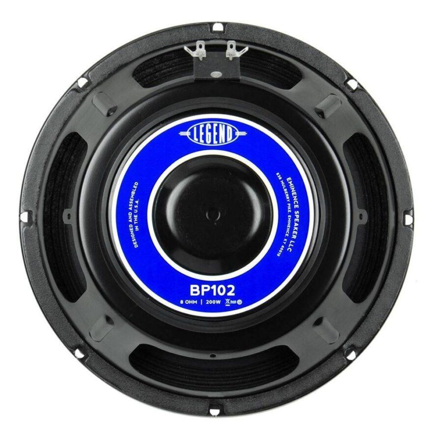 Eminence Legend BP102: 10 inch Bass Guitar Speaker-0