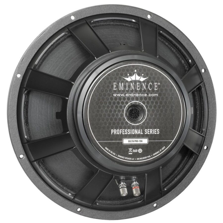 Eminence DELTA PRO-15A: 15 inch Pro Woofer-0
