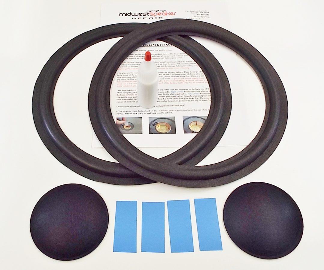 Marantz HD77: 12 inch Refoam Kit (F12-2)-2524
