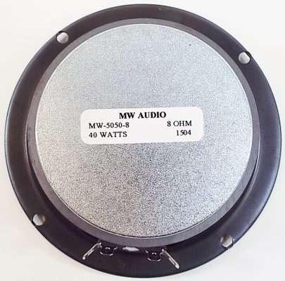 MW Audio MW-5050: 5 inch Woofer-2282