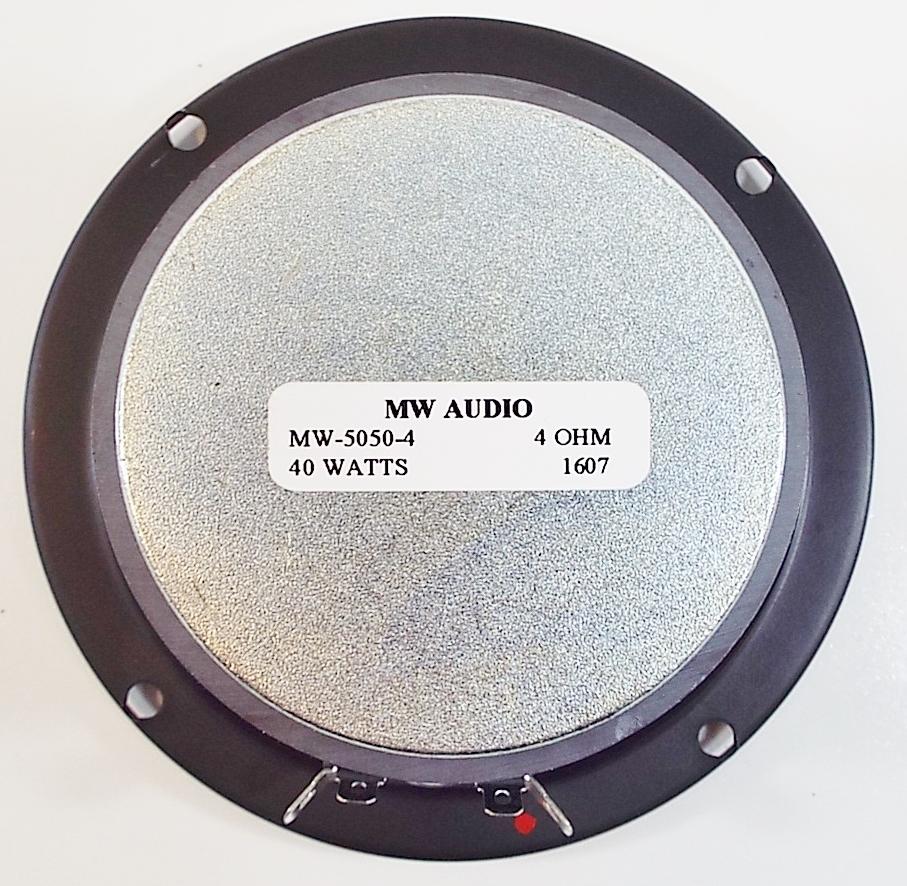 MW Audio MW-5050: 5 inch Woofer-2281