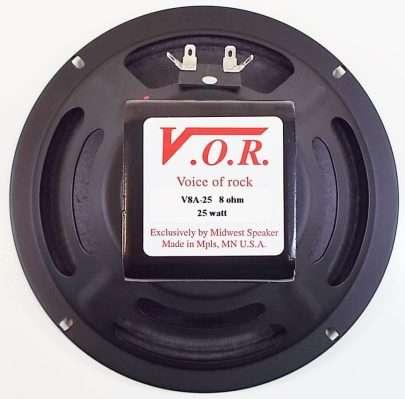 VOR V8A-25: 8 inch Alnico Guitar Speaker-2466
