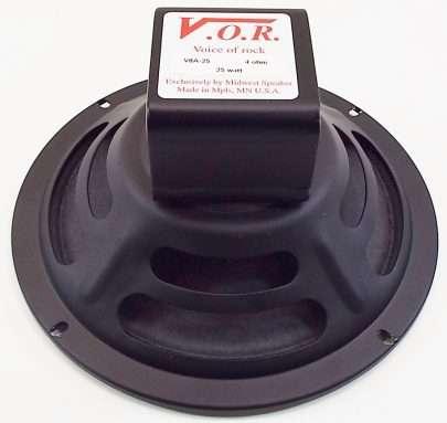 VOR V8A-25: 8 inch Alnico Guitar Speaker-0
