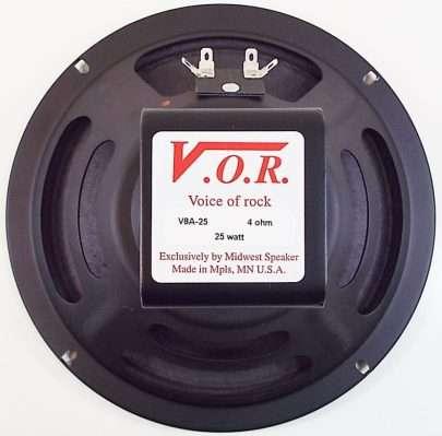 VOR V8A-25: 8 inch Alnico Guitar Speaker-2469