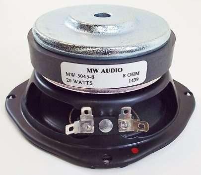 MW Audio MW-5045-8: 4.5 inch Woofer/ Midrange/ Full Range-2582