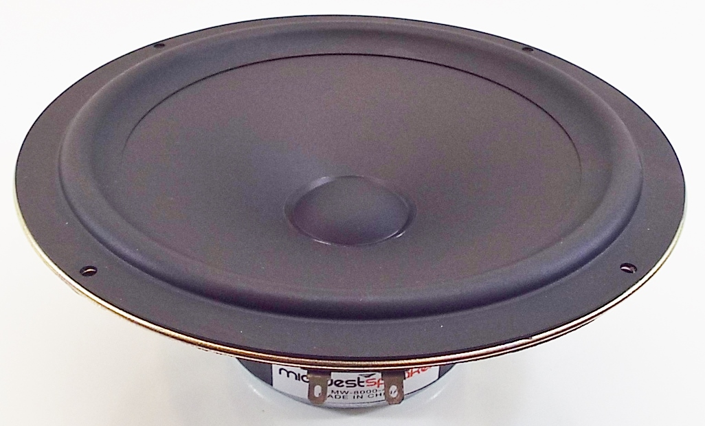 MW Audio MW-8000: 8 inch Polk Audio Copy Woofer-0
