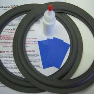 Bose 10 inch Flat Refoam Kit (F10-10)-301