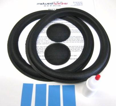 Allison 10 inch Refoam Kit (F10-2)-565