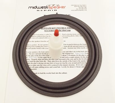 Mark Levinson 86160-0W260 & 86160-0W520 8 inch M Roll Refoam Kit (F8-6)-602