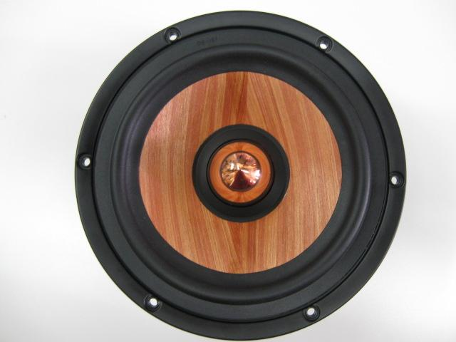 MW Audio MW-7065-8: 6.5 inch Wood Cone Woofer-919