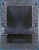 MH-3005 Medium Plastic Recessed Scoop Handle-0