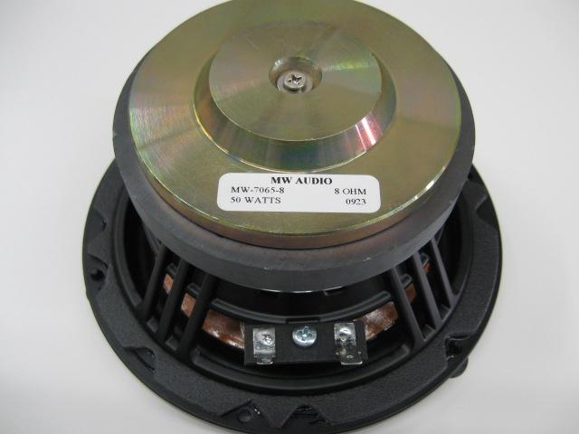 MW Audio MW-7065-8: 6.5 inch Wood Cone Woofer-920