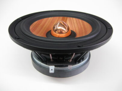 MW Audio MW-7065-8: 6.5 inch Wood Cone Woofer-0