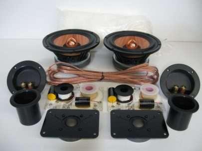 MW Audio W6 2-Way DIY Speaker Kit-0