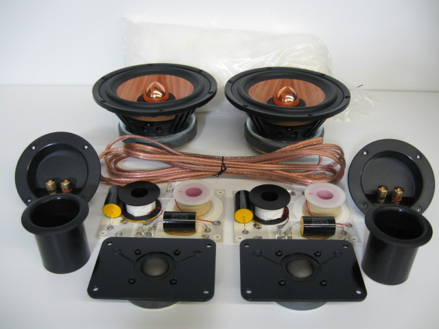 MW Audio W6 2-Way DIY Speaker Kit-0