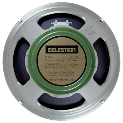 Celestion G12M Greenback: 12 inch Guitar Speaker-0
