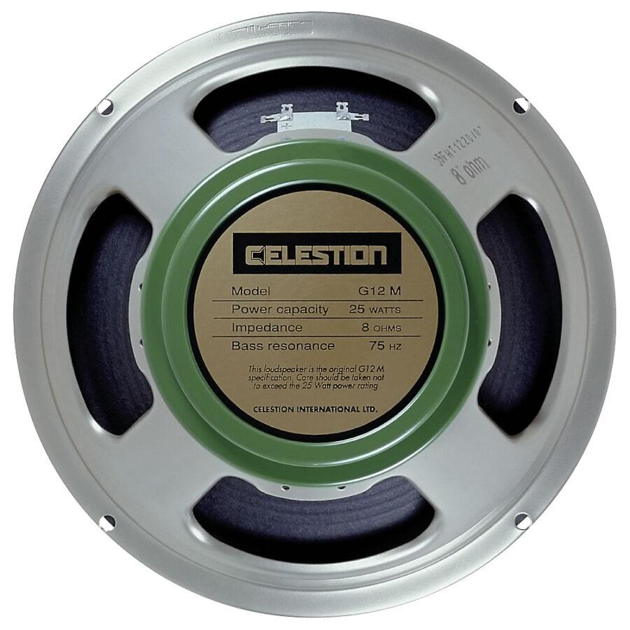 Celestion G12M Greenback: 12 inch Guitar Speaker-0