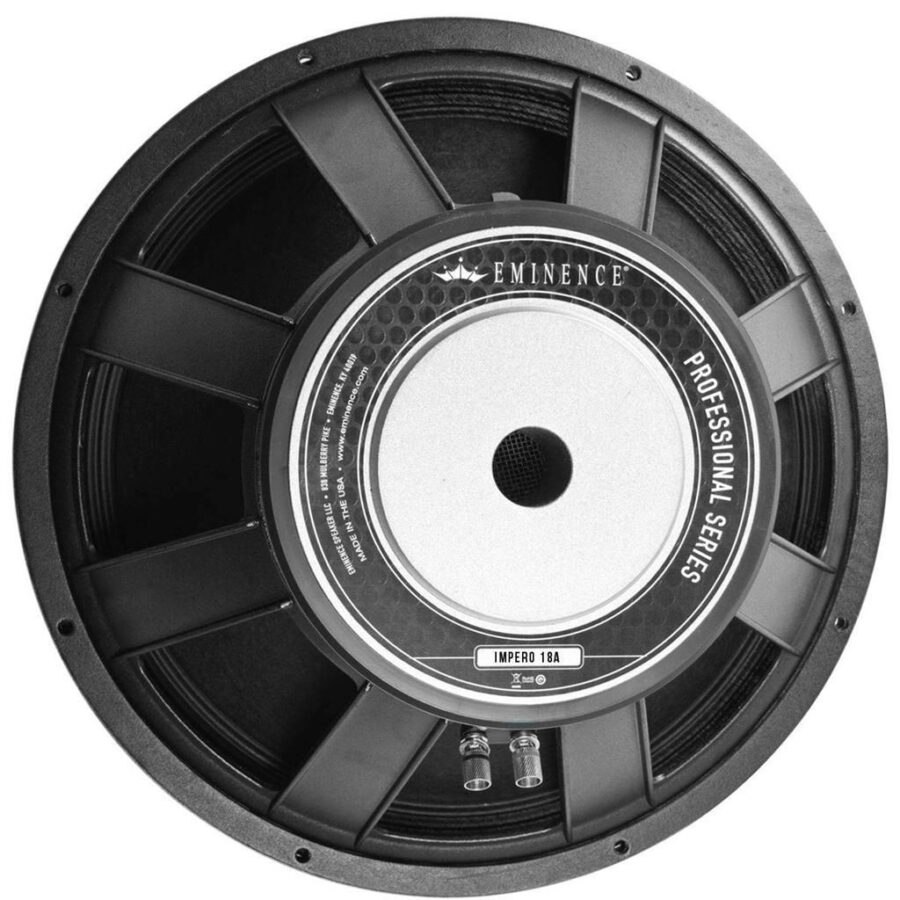 Eminence IMPERO 18: 18 inch High Power Pro Woofer-0