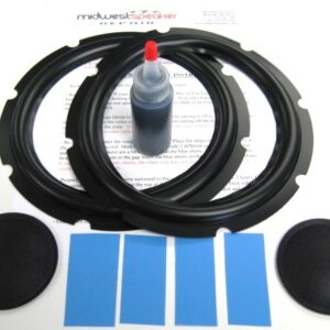 JBL 117H L46 L86 8 inch Rubber Surround Kit (R8-2)-2437