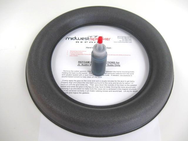JL Audio 12W7 12 inch Refoam Kit (F12-16)-491
